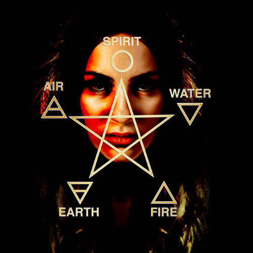 pentagram wicca elemental magick